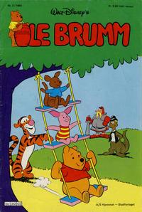 Cover Thumbnail for Ole Brumm (Hjemmet / Egmont, 1981 series) #3/1982