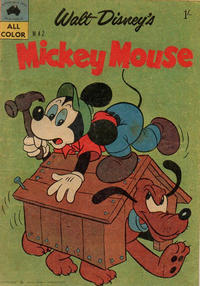 Cover Thumbnail for Walt Disney's Mickey Mouse (W. G. Publications; Wogan Publications, 1956 series) #42