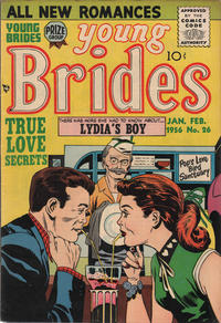 Cover Thumbnail for Young Brides (Prize, 1952 series) #v4#2 (26)