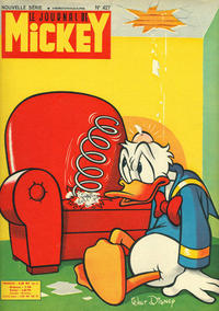 Cover Thumbnail for Le Journal de Mickey (Disney Hachette Presse, 1952 series) #427