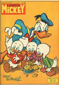Cover Thumbnail for Le Journal de Mickey (Hachette, 1952 series) #496