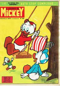 Cover Thumbnail for Le Journal de Mickey (Disney Hachette Presse, 1952 series) #599