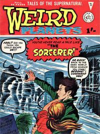 Cover Thumbnail for Weird Planets (Alan Class, 1962 series) #16