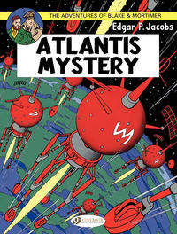 Cover Thumbnail for The Adventures of Blake & Mortimer (Cinebook, 2007 series) #12 - Atlantis Mystery
