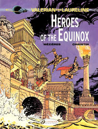 Cover Thumbnail for Valerian and Laureline (Cinebook, 2010 series) #8 - Heroes of the Equinox