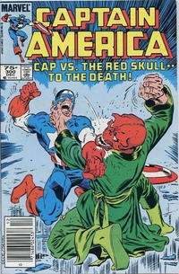 Cover Thumbnail for Captain America (Marvel, 1968 series) #300 [Canadian]