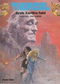 Cover for Thorgal (Carlsen, 1989 series) #3 - Brek Zariths fald