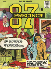 Cover Thumbnail for 87th Precinct (Thorpe & Porter, 1962 series) #2