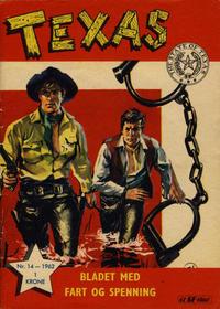 Cover Thumbnail for Texas (Serieforlaget / Se-Bladene / Stabenfeldt, 1953 series) #14/1962