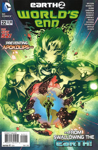 Cover Thumbnail for Earth 2: World's End (DC, 2014 series) #22