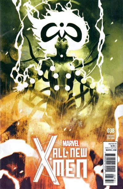 Cover for All-New X-Men (Marvel, 2013 series) #38