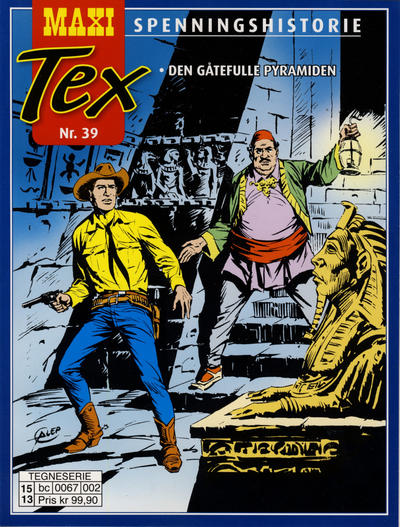 Cover for Maxi Tex (Hjemmet / Egmont, 2008 series) #39
