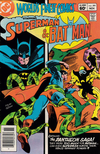 Cover for World's Finest Comics (DC, 1941 series) #297 [Direct-Sales]