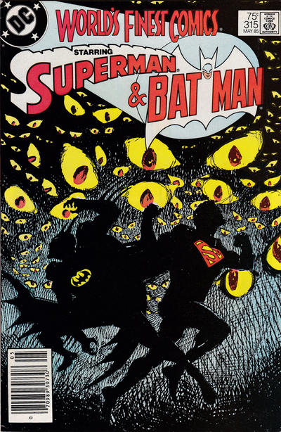 Cover for World's Finest Comics (DC, 1941 series) #315 [Direct]