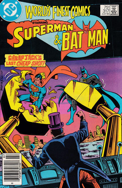 Cover for World's Finest Comics (DC, 1941 series) #317 [Newsstand]