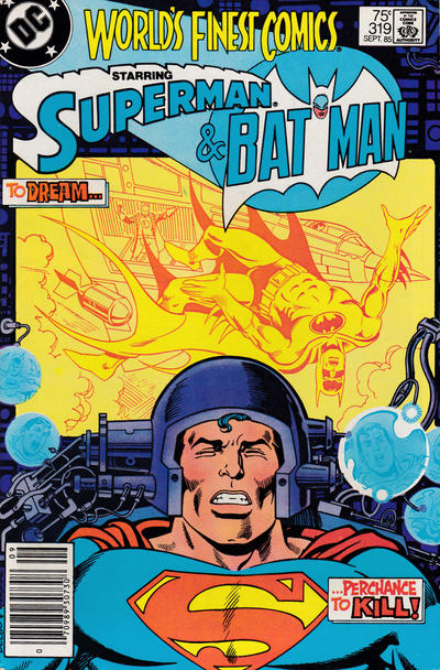 Cover for World's Finest Comics (DC, 1941 series) #319 [Newsstand]