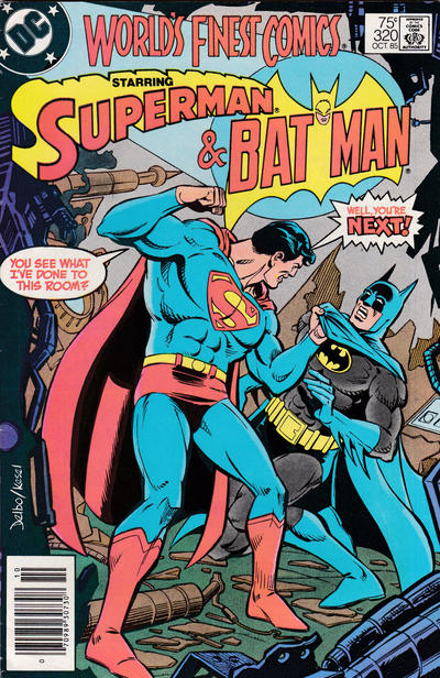 Cover for World's Finest Comics (DC, 1941 series) #320 [Direct]