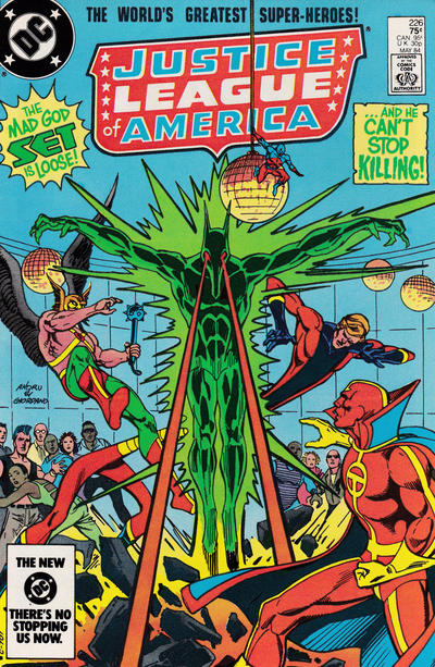 Cover for Justice League of America (DC, 1960 series) #226 [Direct Sales]
