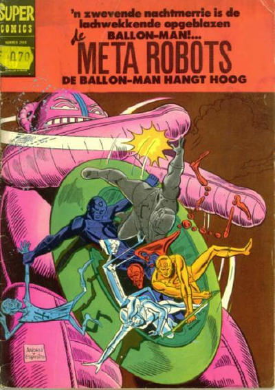 Cover for Super Comics (Classics/Williams, 1968 series) #2408