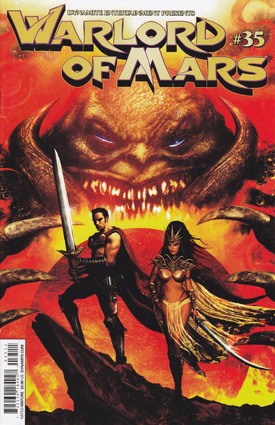 Cover for Warlord of Mars (Dynamite Entertainment, 2010 series) #35 [Cover A]