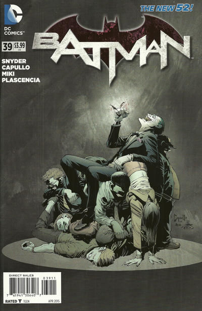 Cover for Batman (DC, 2011 series) #39 [Direct Sales]