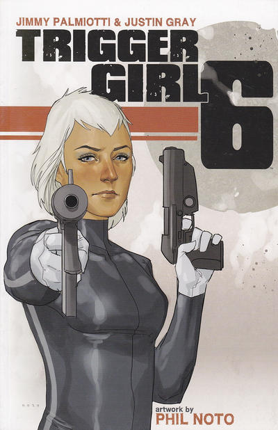 Cover for Triggergirl 6 (Image, 2013 series)