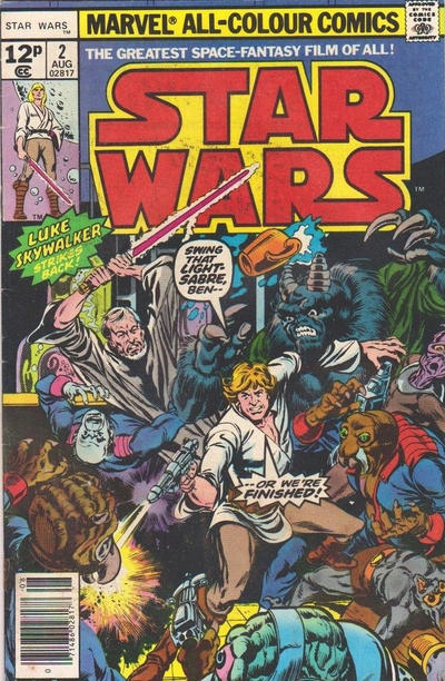 Cover for Star Wars (Marvel, 1977 series) #2 [35¢ Price Variant]