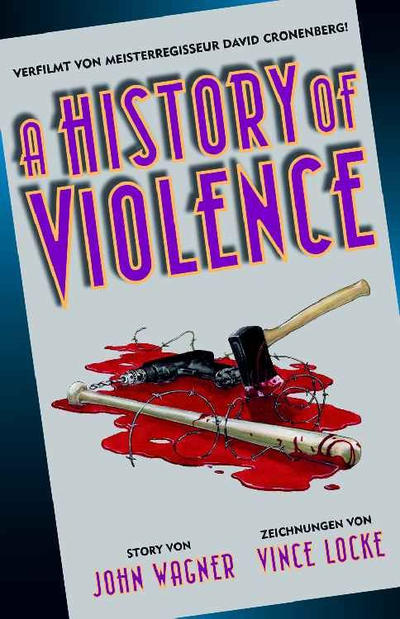 Cover for A History of Violence (Panini Deutschland, 2006 series)
