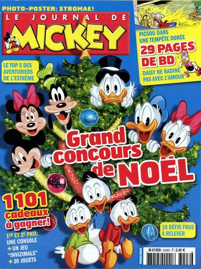Cover for Le Journal de Mickey (Hachette, 1952 series) #3208