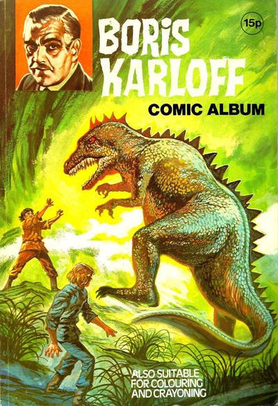 Cover for Boris Karloff Comic Album (World Distributors, 1970 ? series)