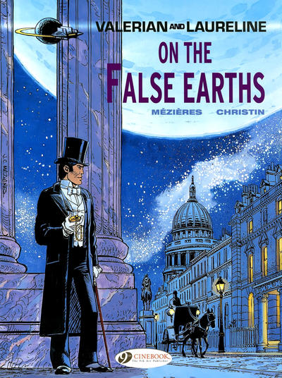 Cover for Valerian and Laureline (Cinebook, 2010 series) #7 - On the False Earths