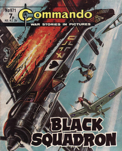 Cover for Commando (D.C. Thomson, 1961 series) #971