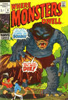 Cover Thumbnail for Where Monsters Dwell (1970 series) #9 [British price variant.]