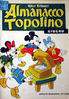 Cover for Almanacco Topolino (Arnoldo Mondadori Editore, 1957 series) #6