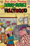 Cover for Dennis the Menace Giant (Hallden; Fawcett, 1958 series) #7 - Dennis the Menace in Hollywood [Second Printing]