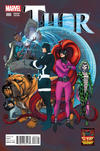 Cover Thumbnail for Thor (2014 series) #6 [Pasqual Ferry 50 Years of Inhumans Variant]