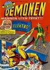 Cover for Demonen (Serieforlaget / Se-Bladene / Stabenfeldt, 1968 series) #2/1968