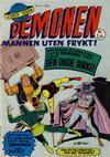 Cover for Demonen (Serieforlaget / Se-Bladene / Stabenfeldt, 1968 series) #6/1968