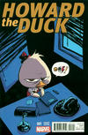 Cover Thumbnail for Howard the Duck (2015 series) #1 [Variant Edition - Marvel Babies - Skottie Young Cover]