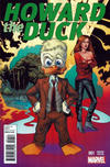 Cover Thumbnail for Howard the Duck (2015 series) #1 [Variant Edition - Val Mayerik Cover]