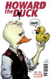 Cover Thumbnail for Howard the Duck (2015 series) #1 [Variant Edition - Paul Pope Cover]