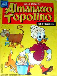 Cover Thumbnail for Almanacco Topolino (Arnoldo Mondadori Editore, 1957 series) #45