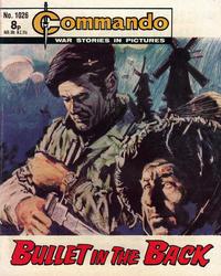 Cover Thumbnail for Commando (D.C. Thomson, 1961 series) #1026