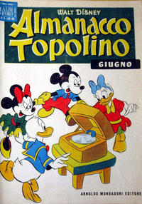 Cover Thumbnail for Almanacco Topolino (Arnoldo Mondadori Editore, 1957 series) #6