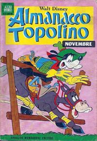 Cover Thumbnail for Almanacco Topolino (Arnoldo Mondadori Editore, 1957 series) #155