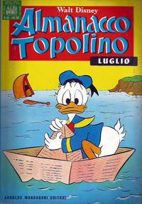 Cover Thumbnail for Almanacco Topolino (Arnoldo Mondadori Editore, 1957 series) #163