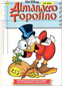 Cover Thumbnail for Almanacco Topolino (Disney Italia, 1999 series) #1