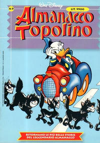 Cover Thumbnail for Almanacco Topolino (The Walt Disney Company Italia, 1999 series) #9