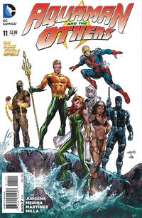 Cover Thumbnail for Aquaman and the Others (DC, 2014 series) #11