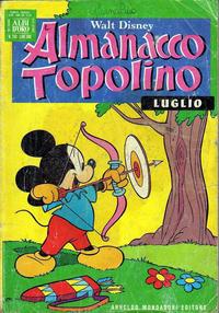 Cover Thumbnail for Almanacco Topolino (Arnoldo Mondadori Editore, 1957 series) #259